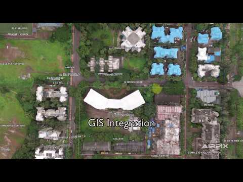 Airpix UAV data for 3D Land Survey