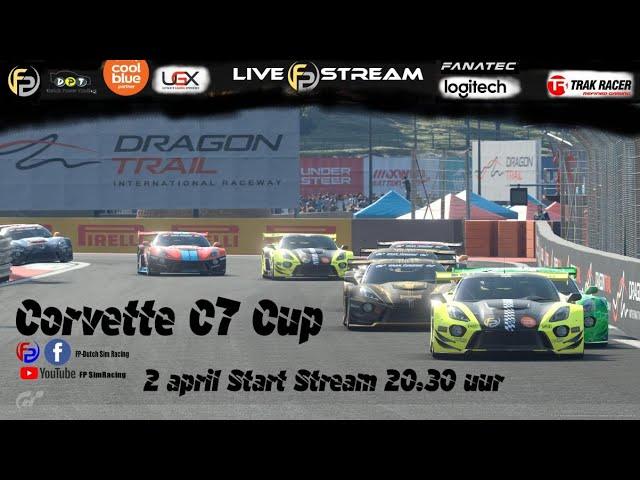 Livestream FP SimRacing Corvette C7 Cup Race 1 AM