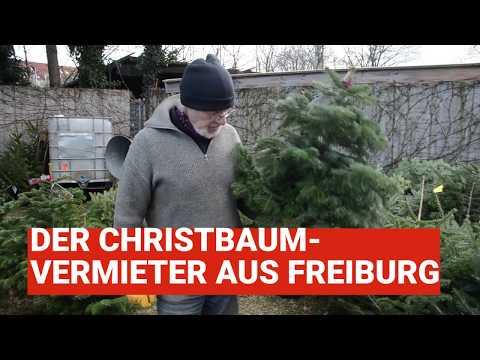 In Freiburg kann man Christbäume mieten