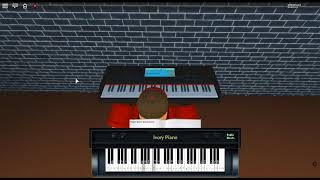 Rhyme Of Another Summer - Amélie by: Yann Tiersen on a ROBLOX piano.