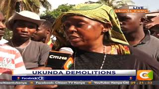 Citizen Extra: Several Homes destroyed in Ukanda Demolitions