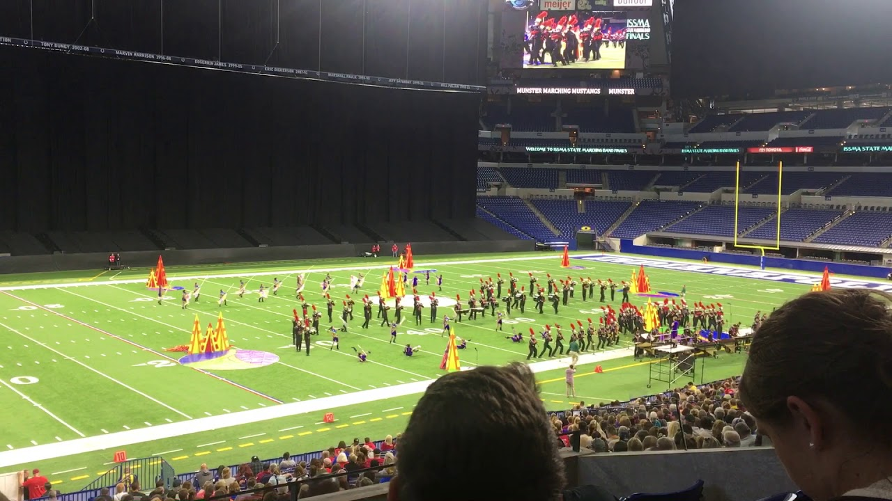2018 Munster High School Marching Band State Finals