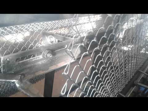 Станок автомат для сетки рабица АСМ-2,0 ячейка 15х15мм 1,2мм.