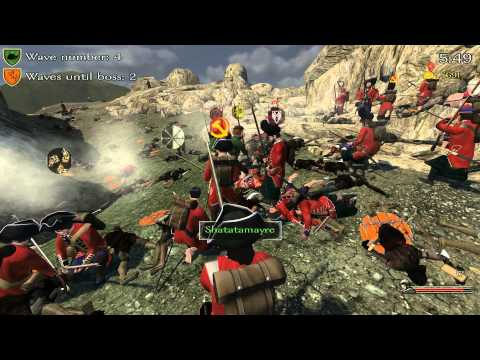 Mount and Blade:Full Invasion 2 Mod-Seven Years War(Britain) vs Goblins #1
