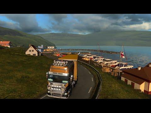 #5 Euro Truck Simulator 2 (Fort William{GB}-Keflavik Airport{IS})