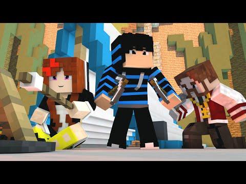 Minecraft: NOVO MINIGAME (Build Battle) - VAMOS TODOS ACAMPAR!! (c/ Nenhos e Miss)