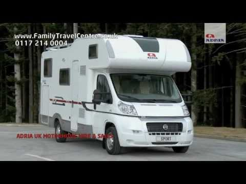 Adria Sport Motorhome Campervan for Hire and Sale