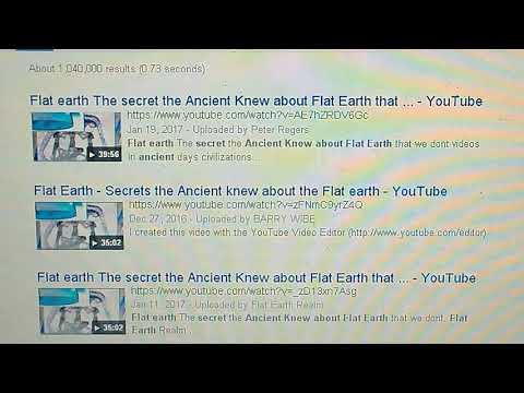 Google images of Asgard  - FLAT EARTH