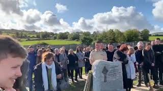 Irish man leaves funny recording for his funeral