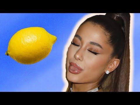 Ariana Grande Hit By Lemon During Coachella Performance After Justin Bieber Speech