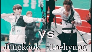 Jungkook vs Taehyung // SKILLS // Funny Differences Styles !
