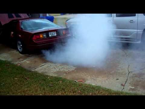 1987 IROC-Z Camaro Seafoam Smoke Show