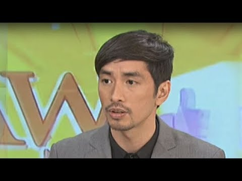 Rico Blanco talks about acting