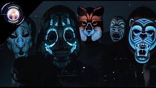 キックスターターであっという間に予算達成!音に合わせてピカピカ光るシュールなLEDマスクが商品化決定!