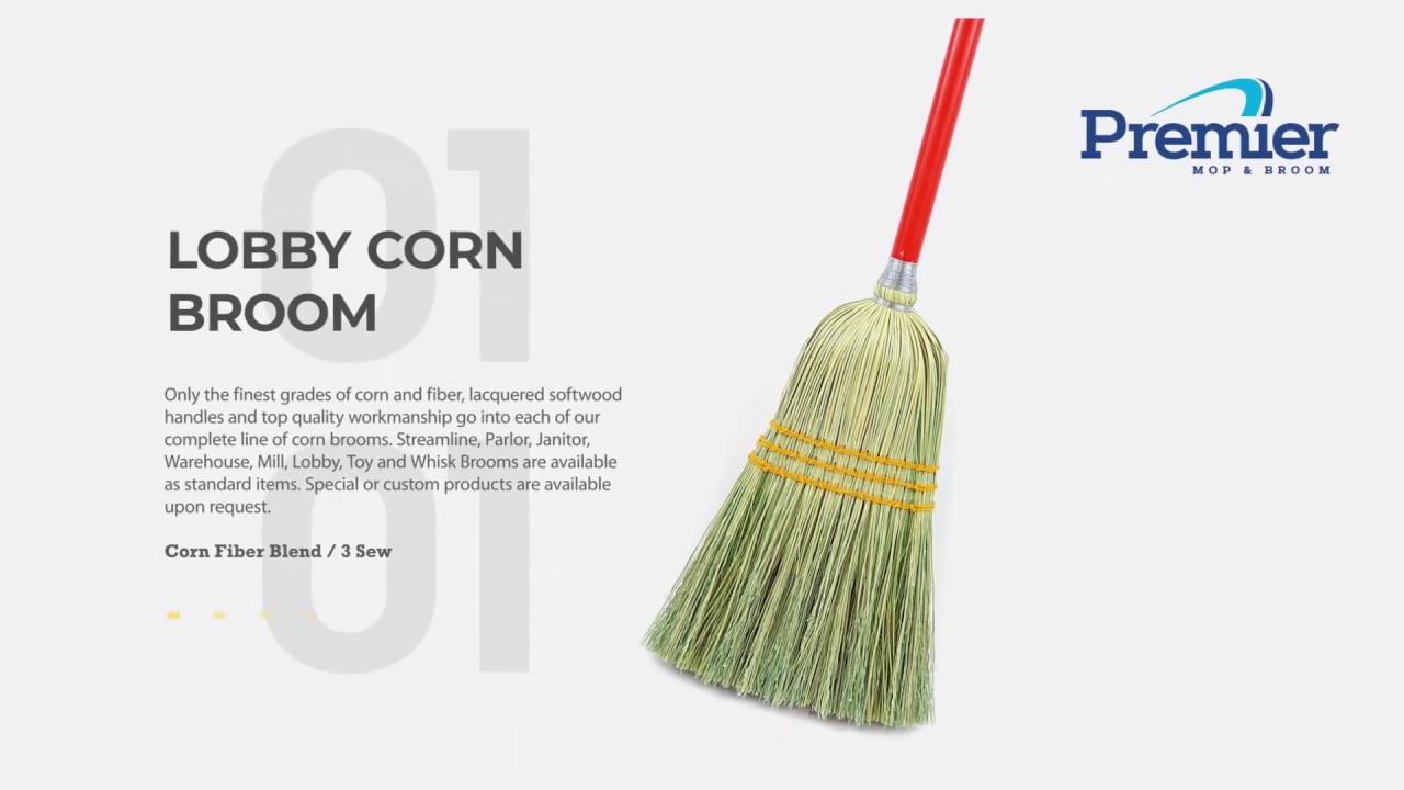 Premier Best Corn Brooms   www premiermop com