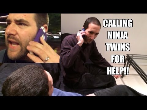 Grims Toy Show in DISNEY: Ninja Twins go to Grim's house to extract GRIME!