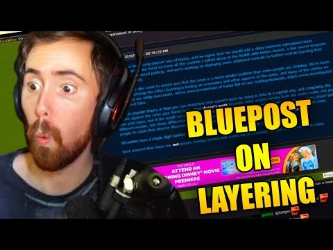 Asmongold Reads & Discusses The WoW Blue Post About Taking Advantage Of Layering