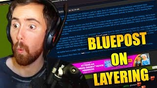 Asmongold Reads Andamp Discusses The Wow Blue Post About Taking Advantage Of Layering