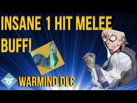 INSANE TITAN EXOTIC BUFF! 1 HIT SYNTHOCEPS! WARMIND DLC - DESTINY 2