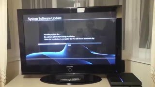Sony PS4 unboxing and setup(Unboxing a Jet Black PS4 500Gb and initial setup., 2016-01-05T21:31:19.000Z)