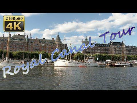 Royal Canal Tour in Stockholm - Sweden 4K Travel Channel