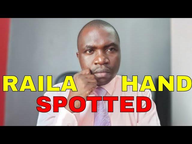 Raila Odinga's Hand SPOTTED in MOSES WETANGULA Ouster in FORD KENYA