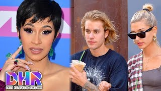 Cardi B UNDER FIRE For Controversial Meme - Hailey Baldwin DELETES TWEET About Marrying Justin (DHR)