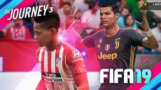 ALEX HUNTER vs RONALDO | FIFA 19 THE JOURNEY PRÉVIA #03