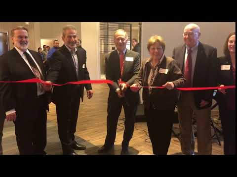 Hampton Inn grand opening & ribbon cutting April 25 2018