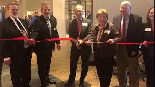 Hampton Inn grand opening & ribbon cutting April 25 2018
