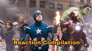 Avengers: Infinity War - official Trailer - Reaction Compilation