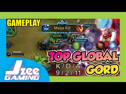 The Real Mage ! Top Global Gord AXElVEGETA Burst Damage !   Mobile Legends