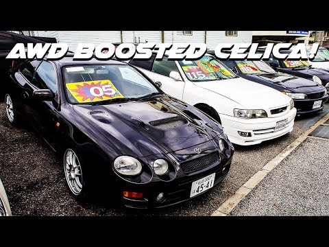 JDM Cars For Sale - Rare Celica GT Four, Toyota Chasers, Evo 6, Silvia S15 And More!