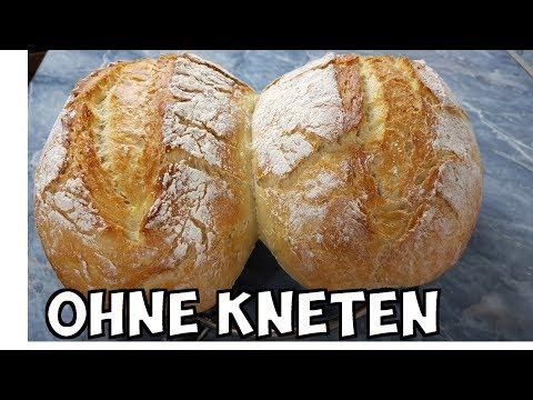 Schnelles Brot ohne kneten (speedy no knead bread)