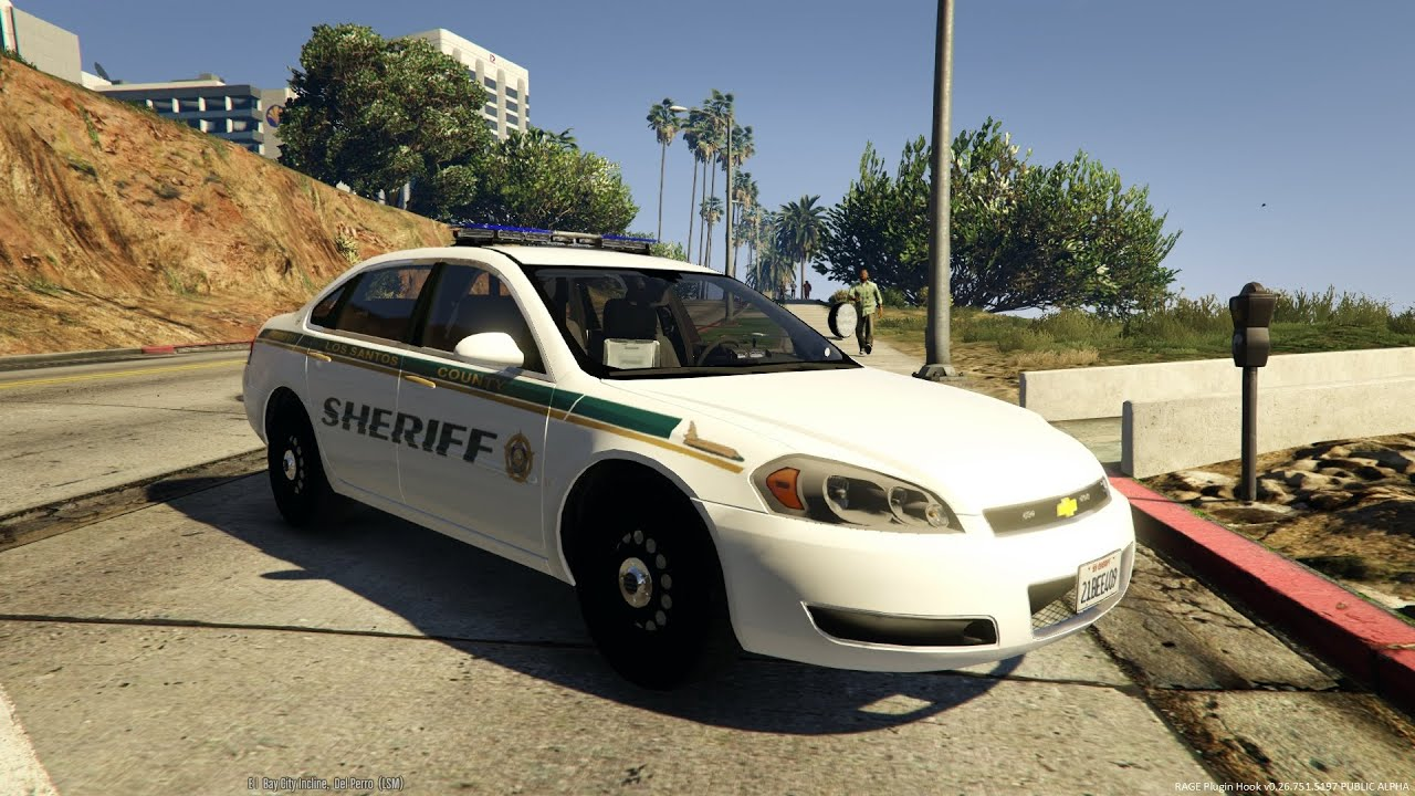 "2 Door Charger >> 2014 Chevrolet Impala livery ""Los Santos County Sheriff"" - YouTube"