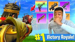 "RAY GUN & ""MORE NEW WEAPONS"" COMING TO FORTNITE!! (BATTLE ROYALE LEAK)"