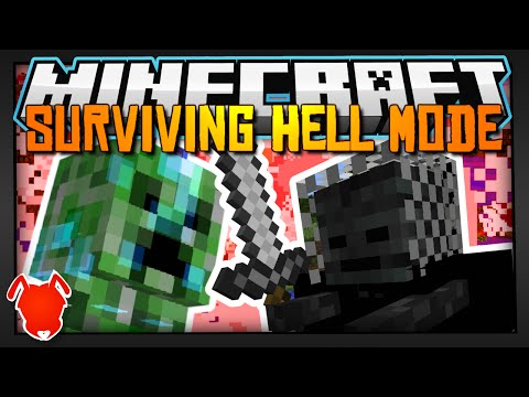 SURVIVING MINECRAFT HELL DIFFICULTY MODE!