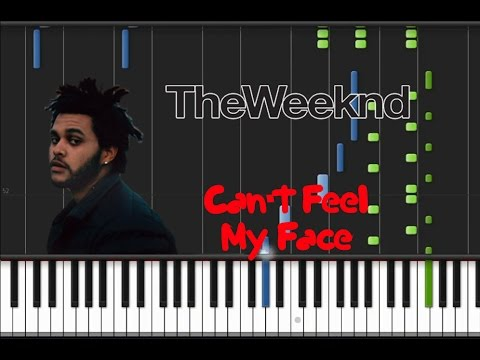The Weeknd - Can't Feel My Face [Synthesia Tutorial]