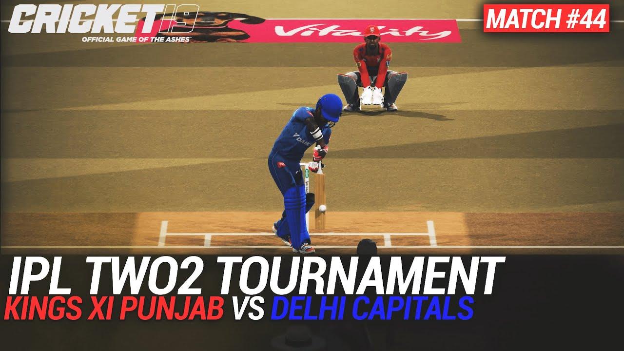 CRICKET 19 - IPL2020 TWO2 - MATCH #44 - KINGS XI PUNJAB vs DELHI CAPITALS