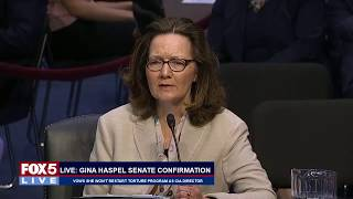 FOX 5 LIVE (5/9): CIA dir. nominee Gina Haspel grilled by Senate Intel Cmte in confirmation hearing