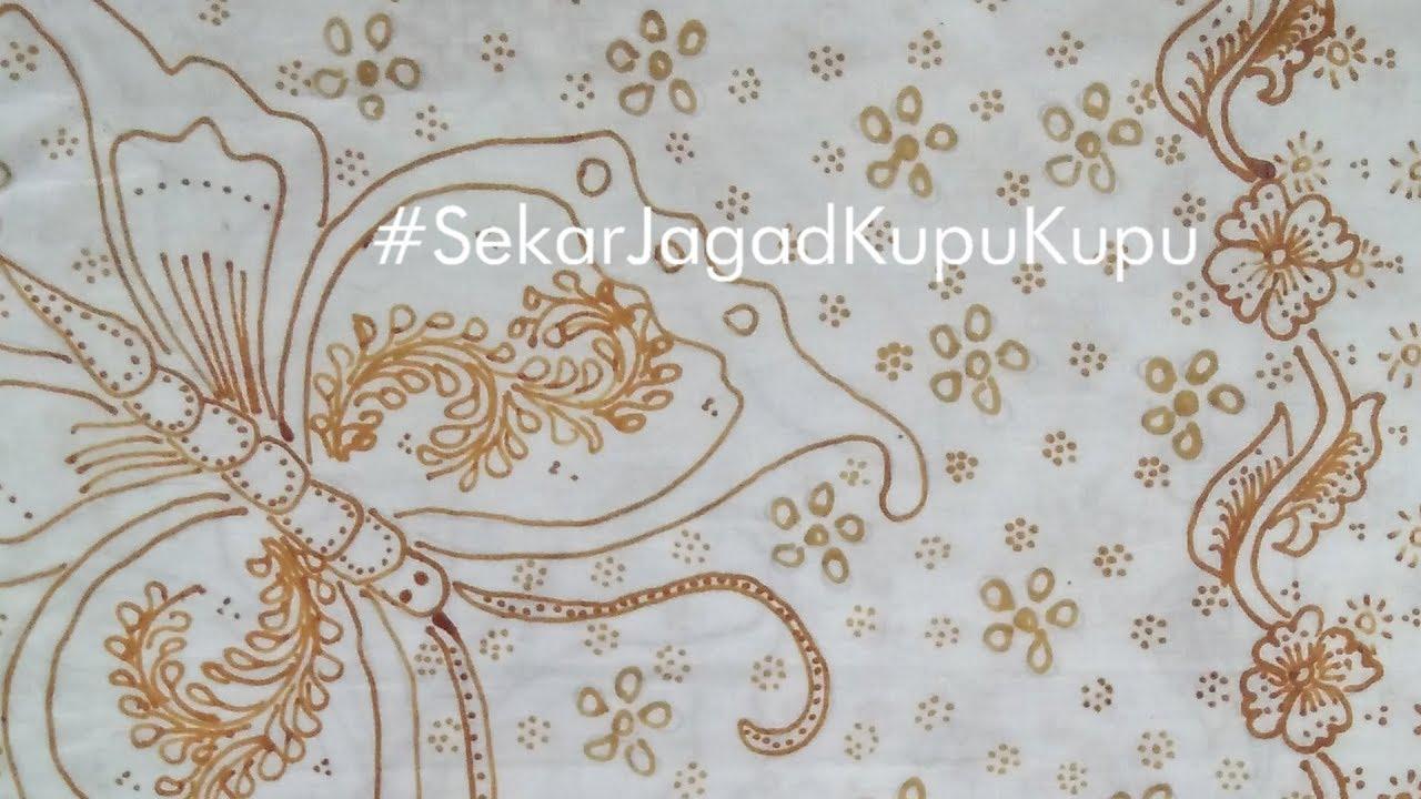 Motif Batik Sekar Jagad Kupu Kupu