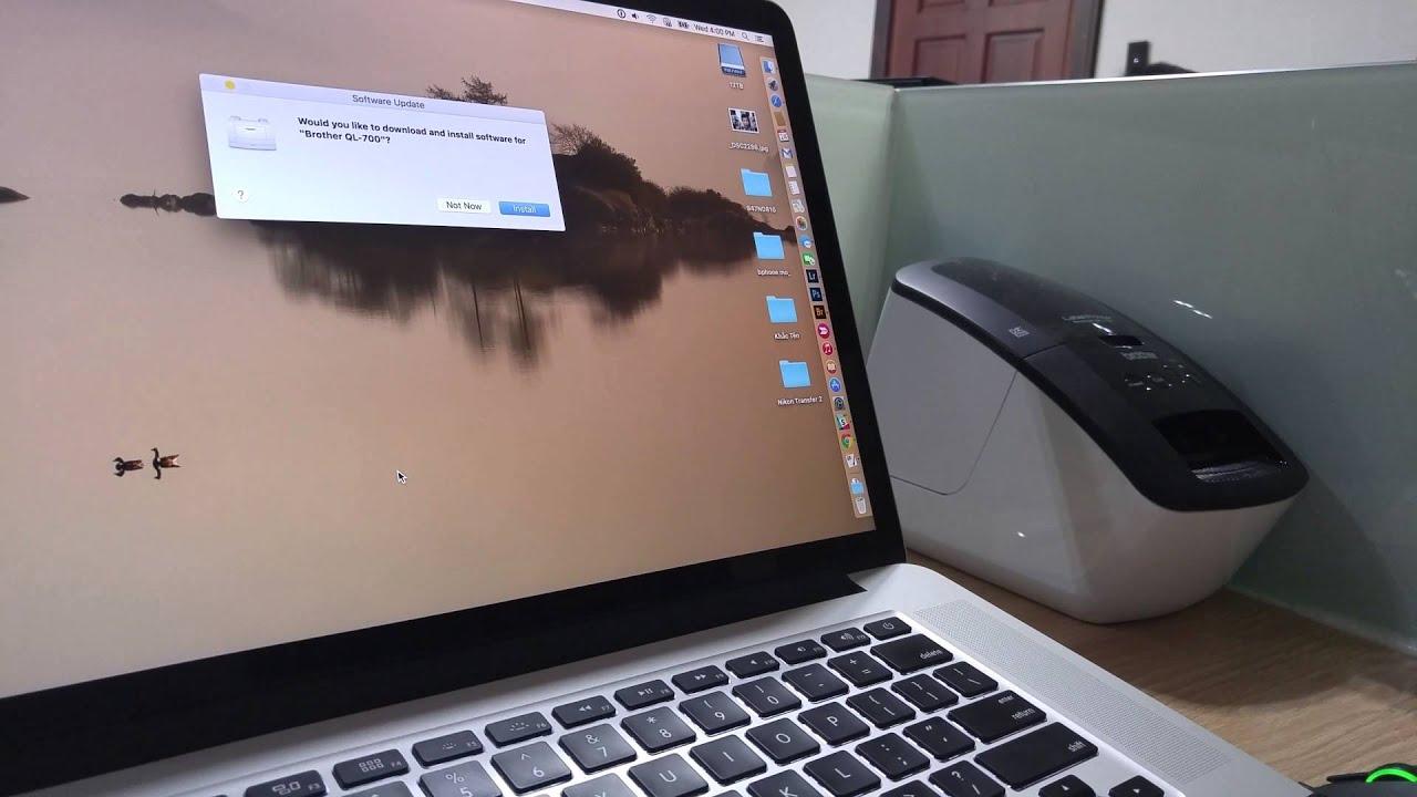 Tinthe.vn – Cài driver máy in trên Mac