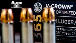 SIG's New 365 Ammo - 1st Tests