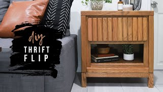 DIY Nightstand Makeover - Thrift Flip Challenge For Habitat For Humanity!