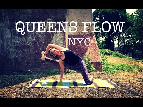 50 min Yoga Flow Total Body Balance, Flexible Hamstrings, Hips, Torso | Visvamitrasana | NYC Queens