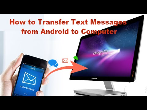 Transfer text messages from galaxy s5 to computer