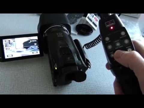 Canon Legria HF G25 / Vixia HF G20 und Manfrotto LANC Control 522C