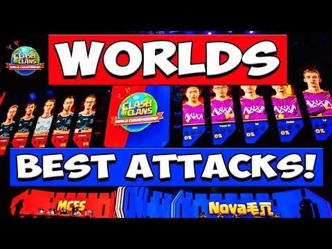 WORLDS BEST TH12 ATTACK STRATEGIES! Clash Of Clans World Championship Finals Day 3