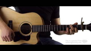 Are You Gonna Kiss Me Or Not Thompson Square Guitar Lesson