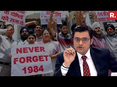 Will Congress Apologise For 1984 Riots? | The Debate With Arnab Goswami
